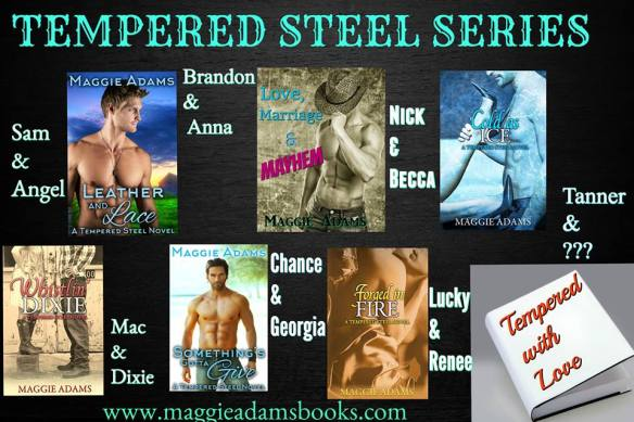Maggie Adams - Tempered Steel Series Banner